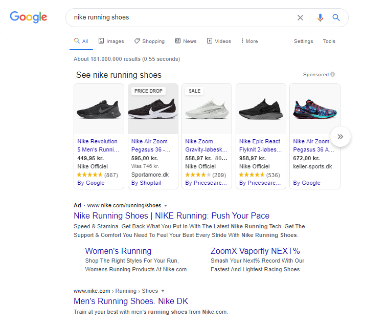 google search paid ads