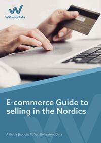 E-commerce guide to the Nordics - ebook cover
