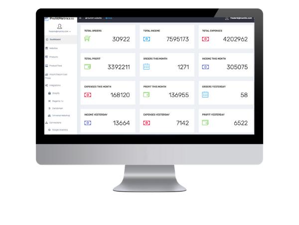profitmetrics screenshot
