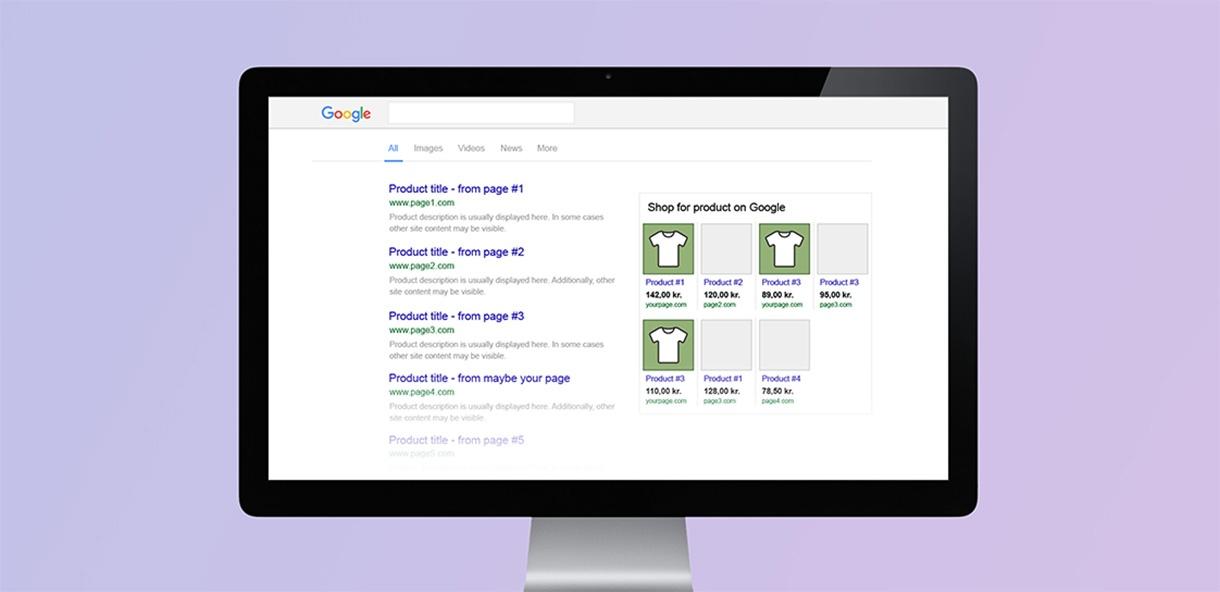 Google Merchant Center interface