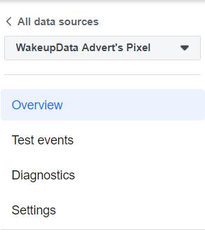 Wakeupdata facebook pixel