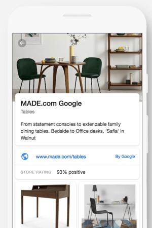 made.com showcase ads