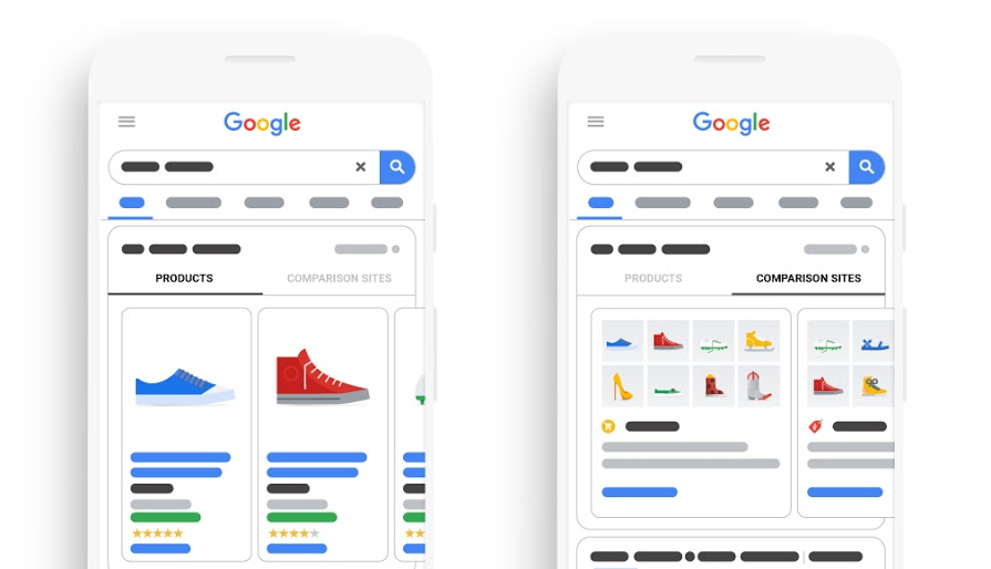 Google introduces Comparison Listing Ads for CSS