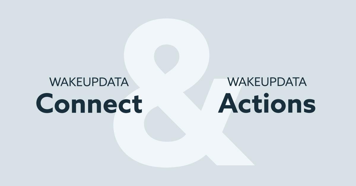 WakeupData product update June 2021